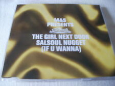 M&S / GIRL NEXT DOOR - SALSOUL NUGGET (IF YOU WANNA) - HOUSE CD SINGLE
