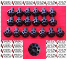 DUCATI BLACK TITANIUM FAIRING SCREWS / BOLTS 1199 PANIGALE (SET OF 19)