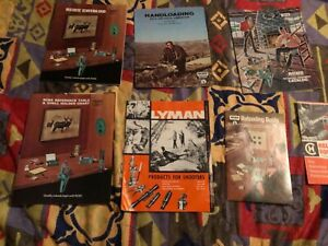 Vintage  1973-74 mixed lot 7 Reloading catalogs/Manual guide