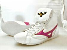 Mizuno Boxing Shoes 21Gx 181000 Original Color Black White x metal rose
