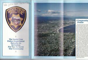 USA - Santa Cruz Police - Flyer