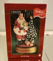 Carlton Cards Bob Hope Ho Ho Hope Silver Bells Christmas Ornament 2000