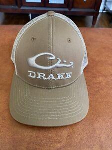 Drake Waterfowl Brown / Tan Truckers Hat