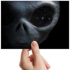 "Alien Face Eye Sci-Fi Space Small Photograph 6"" x 4"" Art Print Photo Gift #14291"