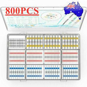 800PCS Waterproof Solder Seal Sleeve Heat Shrink Butt Wire Connectors Terminals