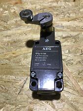 AEG Positionsschalter GTg 13 Sd    /   Limit Switch   910-154-316