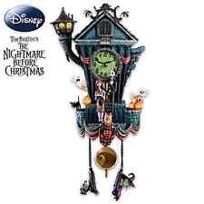 Disney Jack Skellington Kuckucksuhr Nightmare before Christmas Uhr Licht & Musik