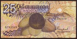 Seychellen / Seychelles P.24 25 Rupien (1979) (3)