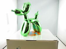 Balloon Dogs- Green Metallic finish/ Home decor/ Fine craft/ Perfect gift