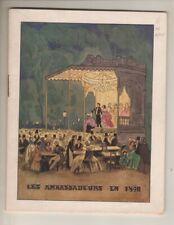 "Jean Gabin & Claude Dauphin   ""La Soif""  Paris  Programme de Theatre  1949"