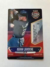 ADAM LAROCHE 2015 PLATINUM SERIES BASEBALL GAME CARD, WHITE SOX