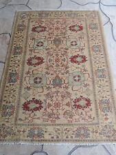 4x6ft. Handmade Afghan Chobi Wool Rug