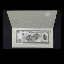 Silver Reserve Australia 1 Lunar Dollar, 2017, Great Wall, In Folder, UNC