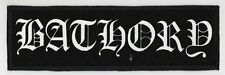 BATHORY SUPERSTRIP PATCH / SPEED-THRASH-BLACK-DEATH METAL