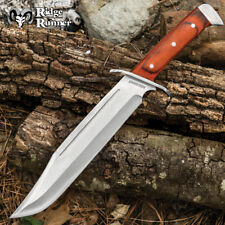 "16"" Renegade Wood Hunting Skinning Survival Fixed Blade Full Tang Knife Bowie"