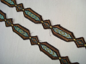 antique french 1900 passementerie trim 7 yards x 5/8""