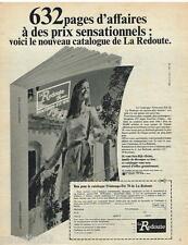 PUBLICITE ADVERTISING 0105  1970  LA REDOUTE  commande par catalogue