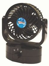 cyclone oscillating fan compact and quiet 12v ideal for motorhome camper caravan