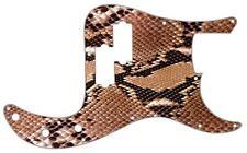 P Bass Precision Pickguard Custom Fender 13 Hole Guitar Pick Guard Snakeskin 2