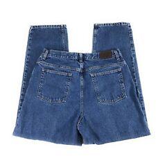 L.L. Bean Classic Fit High Rise 100% Cotton Medium Wash Blue Jeans Women's 16R