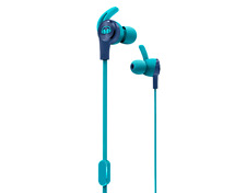 Monster iSport Achieve Light Blue Earphones Headphones Music Stereo Headset