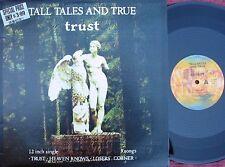 """Tall Tales & True ORIG OZ PS 12"""" Trust Signed NM '88 Folk Alt Rock"""