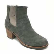 Women's Sperry Top-Sider Marlow Ankle Boots Booties Shoe Sz 7.5M Gray Suede AA13