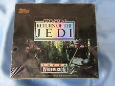 "STAR WARS ""RETURN OF THE JEDI"" WIDEVISION CARDS - TOPPS 1995 SEALED BOX"