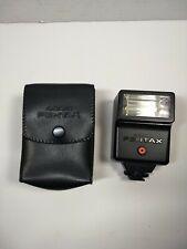 ASAHI Pentax AF200S Shoe Mount Flash With Original Case