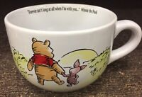 Winnie The Pooh Piglet Soup Jumbo Ceramic Mug Forever Isnt Long When Im With You