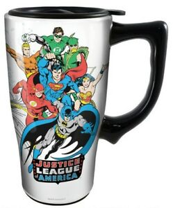 DC Heroes Ceramic Travel Coffee Mug: Justice League of America