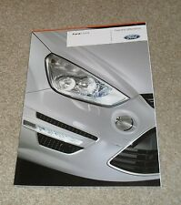 Ford S Max Brochure 2010 - Titanium X Sport Zetec - 2.0 2.2 TDCI