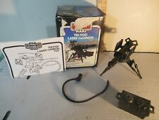 Star Wars vintage Tri-Pod Laser Cannon COMPLETE IN BOX with instructions