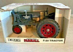 ERTL McCormick-Deering Farmall F-20 Tractor 1/16 scale 1987