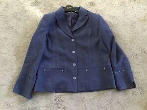 """Vintage Ladies Pauporte Jacket Size 3 Length 25"""" Armpit To Armpit 22"""""""