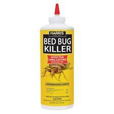 Harris Bed Bug Diatomaceous Earth Powder, 8oz, NEW