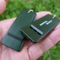 2pcs Wandern Notfallrettung Überlebens-Pfeife Camping-Werkzeug Signalton