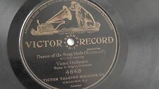 Victor Orchestra - 78rpm single 10-inch - Victor #4648 Dance of the Song Birds