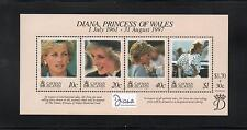 Cayman Islands 1999 Diana Commem Sheet. MINT/MNH One postage for multi buys. Rx