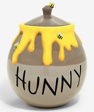 🌺 New~Disney Authentic~Winnie The Pooh~Hunny Pot with Bees~Cookie Jar~New