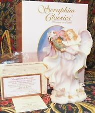 New Seraphim Classics Angel Holly Christmas Cheer MINT IN BOX Retired 78408