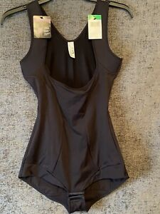 Maidenform Women's Wear Your Own Bra Romper Body Suit Shapewear New Large