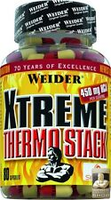Weider Xtreme Thermal Stack 80 Capsules for Mhd :0 1/20 (22,19 €/ 100g)