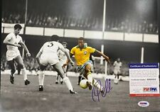 Pele Signed 11x14 Photo PSA DNA Authenticated Soccer Brazil