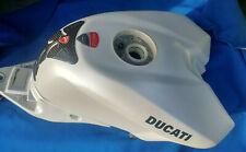 DUCATI 848 EVO 1098 1198 FUEL TANK WITH PUMP PETROL GAS RACE SPARE WHITE