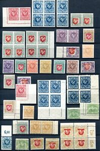 Litauen Briefmarken Lot Zeitraum 1919/1921