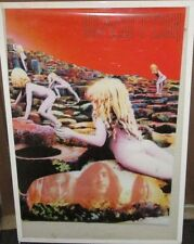 LED ZEPPELIN POSTER HOUSES OF THE HOLY RARE NEW  MID 2000'S VINTAGE PAGE PLANT