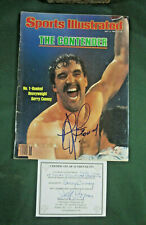 Signed Gerry Cooney Sports Illustrated The Contender 5/4/81 Cert Of Authencity