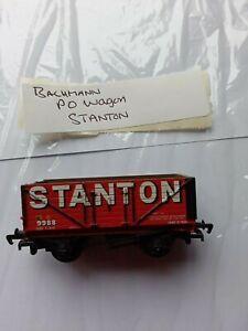 Bachmann Model Railways OO GAUGE -P O WAGON - STANTON  no box