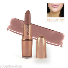 Makeup Revolution Rose Gold Lipstick Chauffeur Nude Full Size